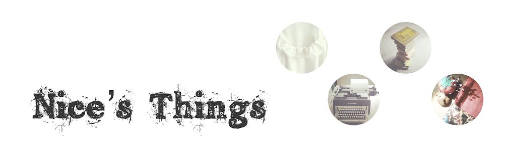 Nice's Things