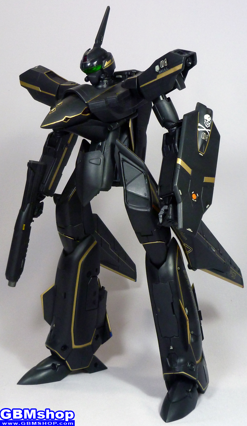 Macross VF-X VF-19A Black Excalibur Battroid Mode