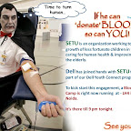 Blood Donation Camp @ Noida - 7 Oct 2011