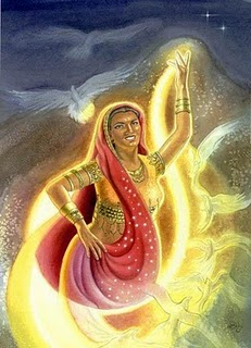 Ushas Hindu Goddess Of The Dawn Image
