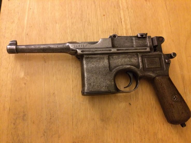 WTS: Handguns for sale (C96, AR pistol, Ruger 22/45 Lite, CZ