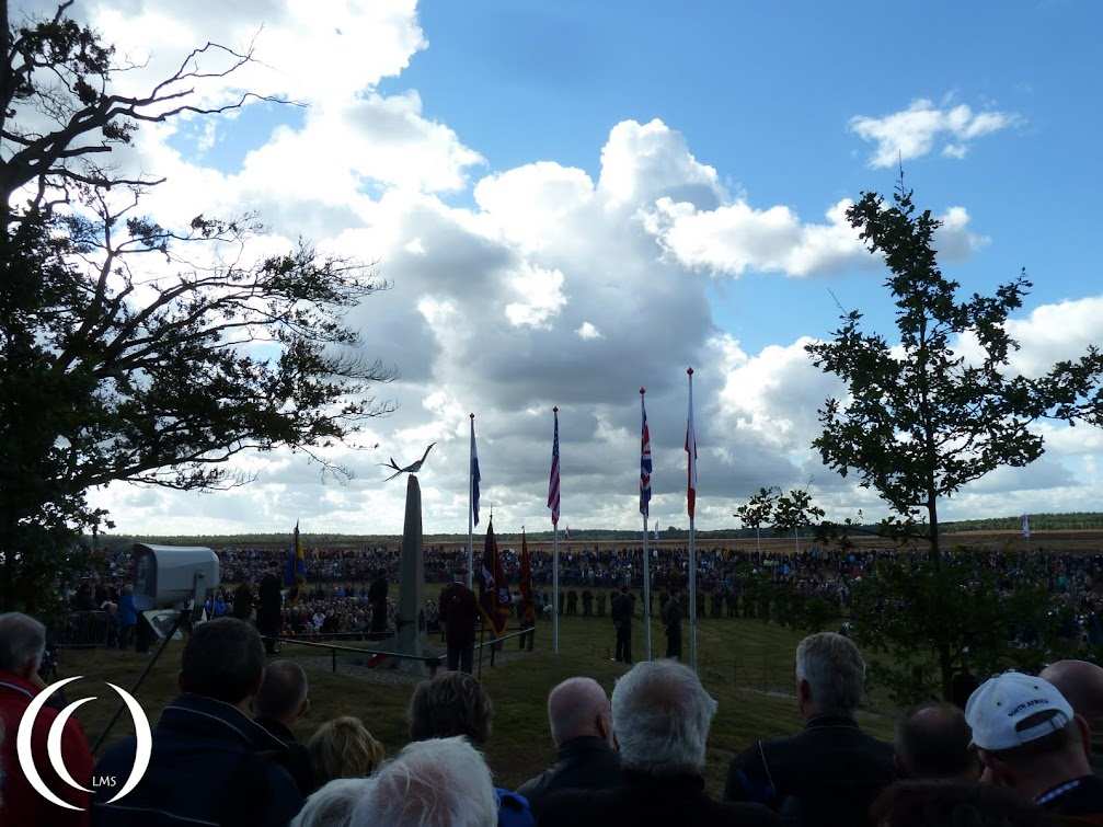 The 68th Remembrance of Market Garden, spectators at the ceremony