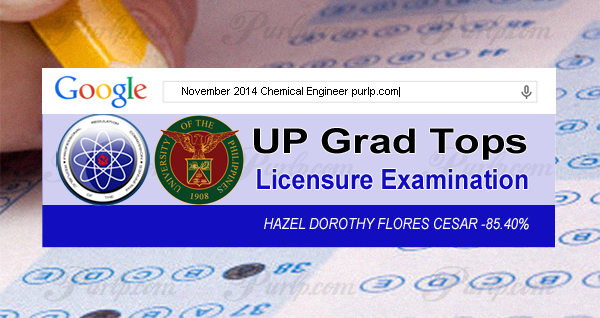 up grad tops chemical engineer licensure exam