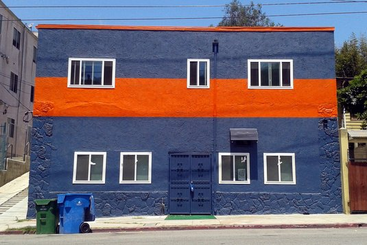 rugby Echo Park building goes from bland to bold  photo