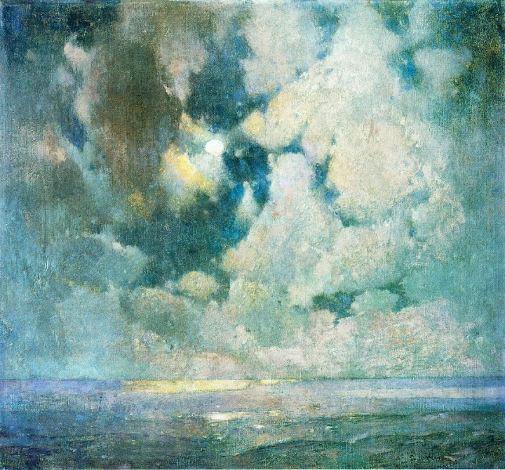 Emil Carlsen - The Ocean at Sunrise