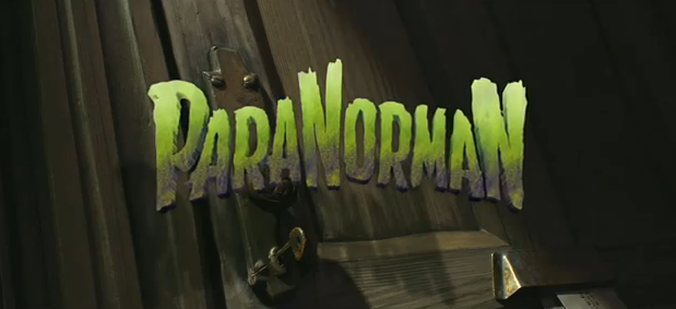 ParaNorman 2012 3D stop-motion animated film title