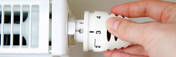 Apagar la calefacción por la noche y bajar la temperatura al salir de casa
