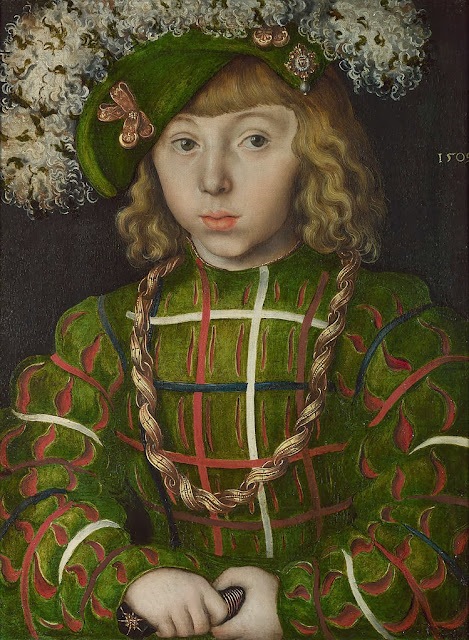Lucas Cranach the Elder - Portrait of Johann Friedrich the Magnanimous - Google Art Project
