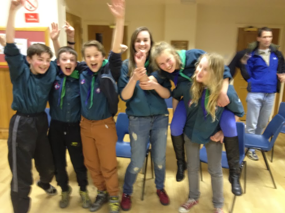 Victorious Scout Quiz Team