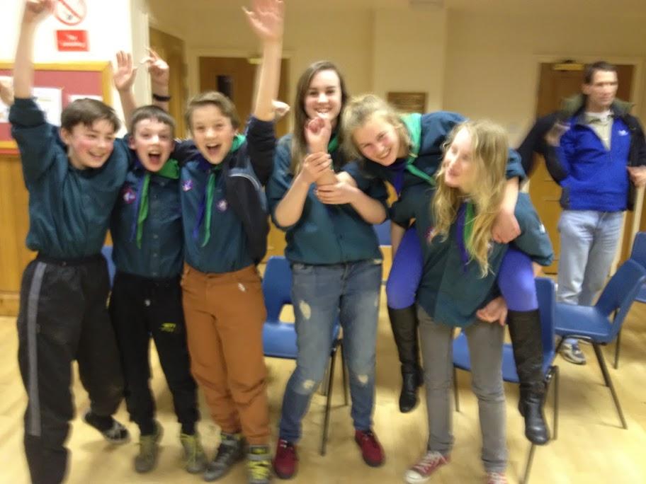 Victorious Scout Quiz Team