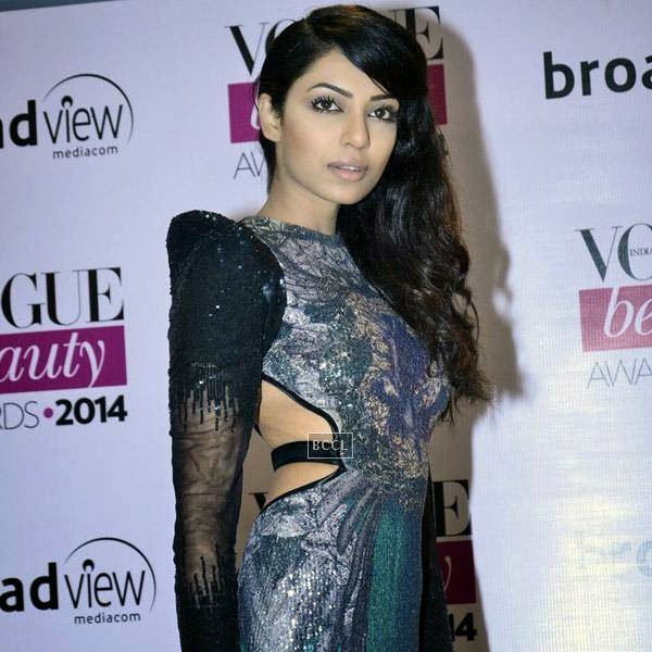 Miss India Earth Sobhita Dhulipala at Vogue Beauty Awards 2014, held at Hotel Taj Lands End in Mumbai, on July 22, 2014.(Pic: Viral Bhayani)
