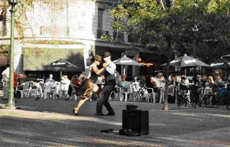 Plaza Dorrego (Barrio de San Telmo)