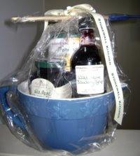 Stonewall Kitchen Blueberry Batter Bowl Gift Set breakfast gift basket