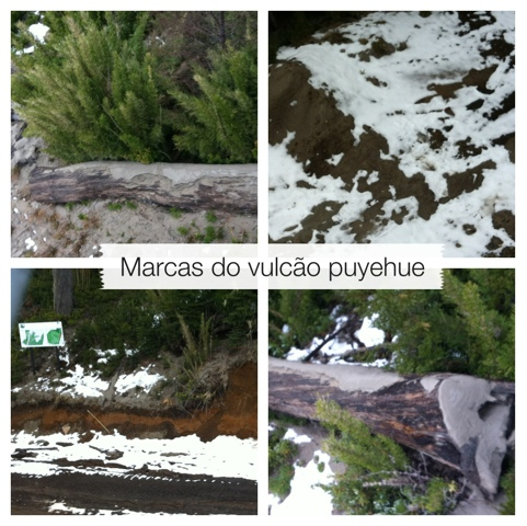 marcas do vulcao puyehue