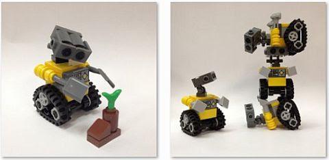 Tự ráp chú robot Wall-E dễ thương