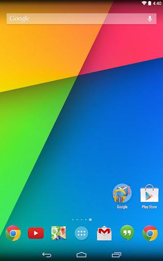 Google Now Launcher KitaKat untuk smartphone Android 4.1 up