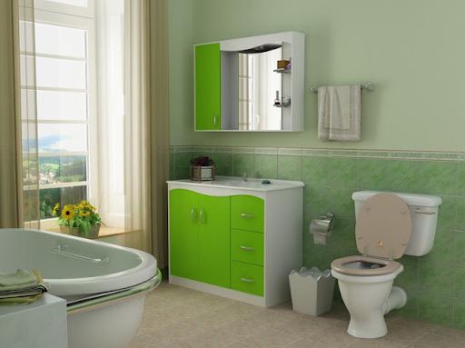 model motif keramik dinding kamar mandi minimalis nuansa modern