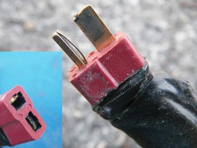 9 - Alimentation du mountainboard électrique par batterie lithium Prises_1