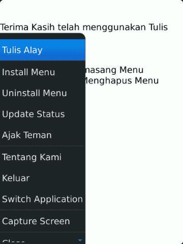 Kamus Jawa BlackBerry