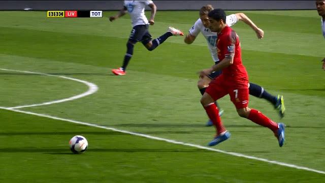 Suarez, Liverpool - Tottenham