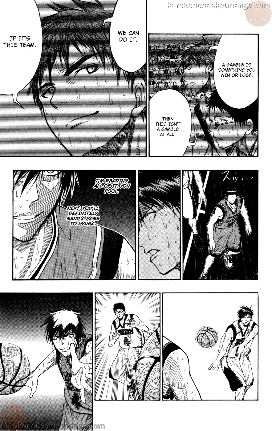 Kuroko no Basket Manga Chapter 105 - Image 08