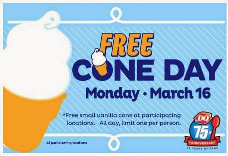 Free Dairy Queen Cone!