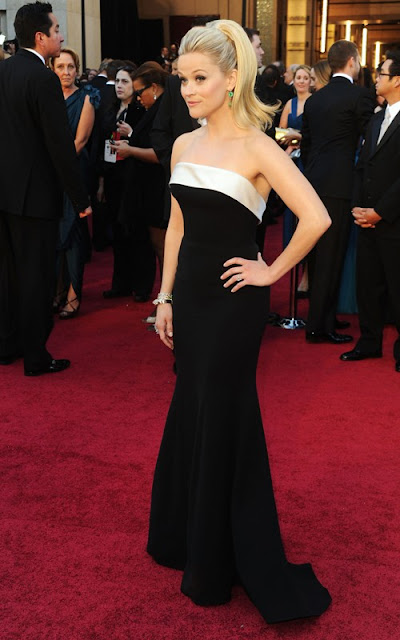 reese+witherspoon+oscars+2011 Oscars Beauty 2011: Reese Witherspoon
