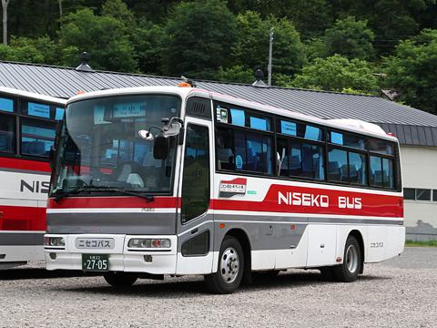 ニセコバス 急行小樽線 三菱エアロミディMK