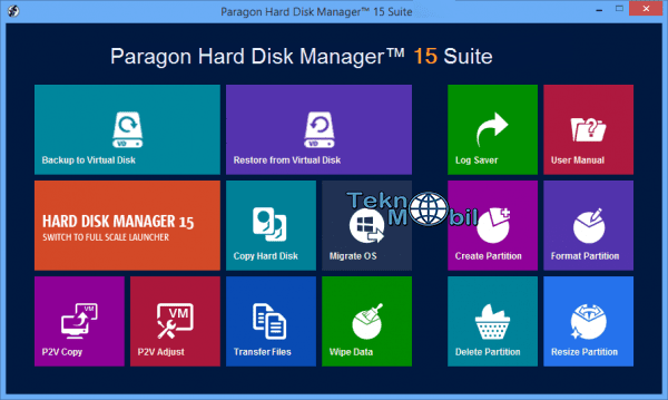 Paragon Hard Disk Manager 15 v10.1.25.348 Full