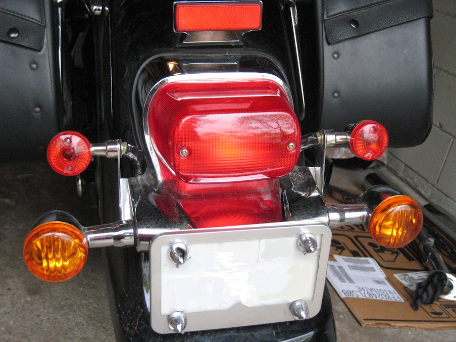 Flashing Brake Lights