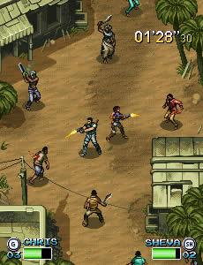 re5 Como seriam os games atuais em versões Java para celular