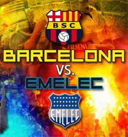 Barcelona S.C. vs Emelec