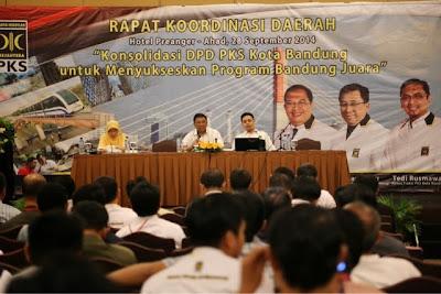 Rakorda PKS Kota Bandung