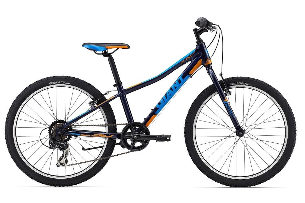 Xe dap the thao dia hinh Giant XTC Jr 24 Lite, xe dap the thao, xe dap trinx, xe đạp thể thao chính hãng, xe dap asama, XtC Jr 24 Lite Dark Blue