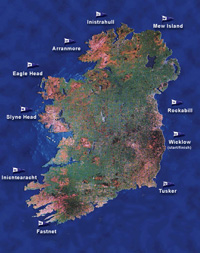 JBoats sailing around the island of Ireland