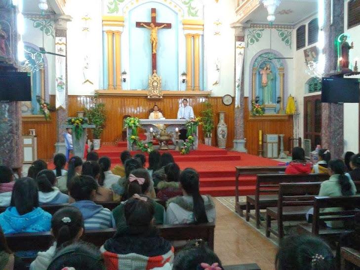 Thánh Lễ Sinh Viên Đầu Năm Dương Lịch 2014 (Tức Cuối Năm Âm Lịch) Của Sinh Viên-Giới Trẻ Công Giáo Tiên Cát Việt Trì