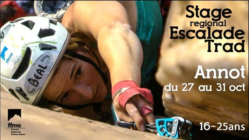 Stage d'escalade traditionnel