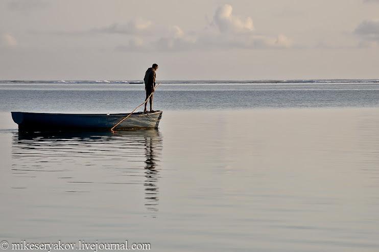 Утро на  острове Маврикий