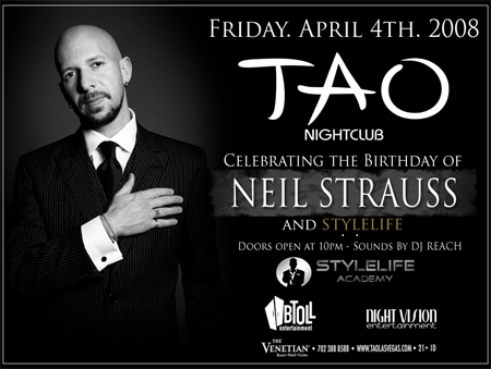Neil Strauss Party In Las Vegas Image