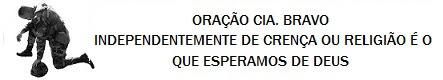ORAÇÃO CIA BRAVO
