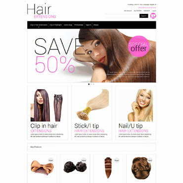 Multipurpose Hair Extensions Magento #51969