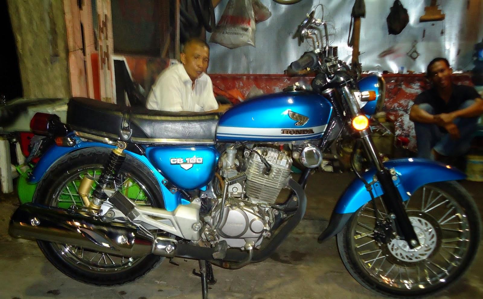 Koleksi Foto Modifikasi Motor Trail Gl Terbaru Modispik Motor