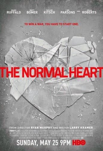 Poster Of English Movie The Normal Heart (2014) Free Download Full New Hollywood Movie Watch Online At Alldownloads4u.Com