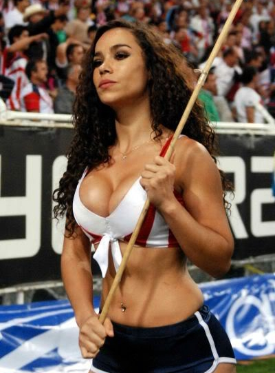 cheerleaders Hot latina