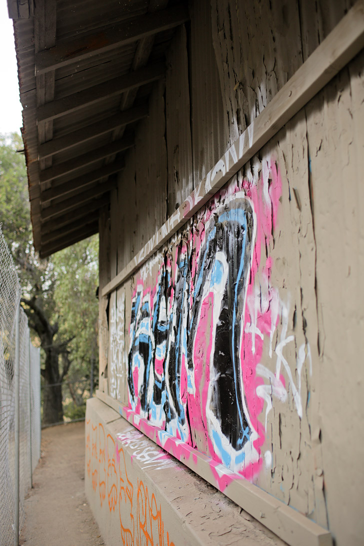Abandoned Zoo Griffith Park.