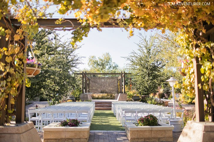 Las Vegas Springs Preserve Wedding.