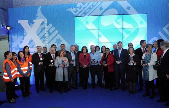 Madrid Salud cumple 10 años recibiendo el Sello CAF 500+