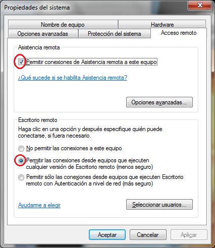 C4m1nos 3co r1dos conexi n a escritorio remoto - Conexion a escritorio remoto windows xp ...