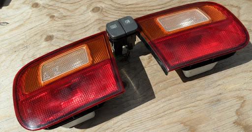 FS: For EG Civic - EDM Rear Fog Lights/Lamps; VX Cabin ... Honda Civic Fog Light Wiring Harness on