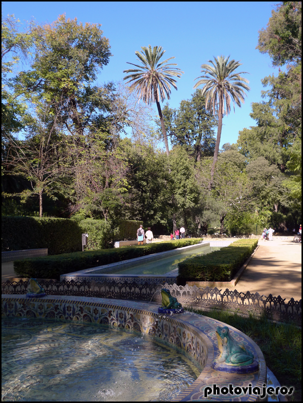 Parque de Maria Luisa Sevilla